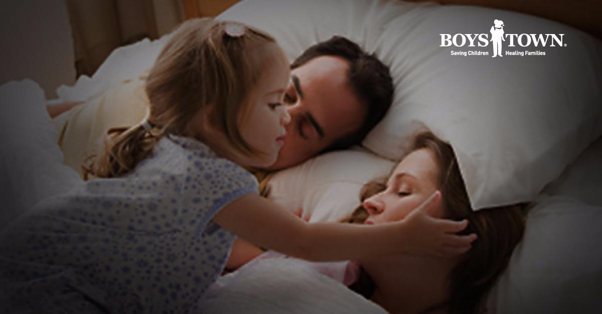 Kid sleep troubles email series for moms