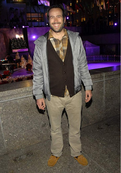 Jason Lee at the 2007 Rockefeller Center Tree Lighting Ceremony.