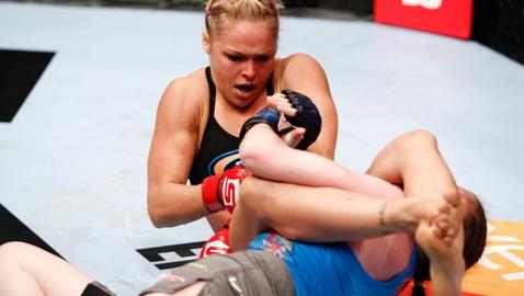 """Ronda Rousey Says Cris """"Cyborg"""" Santos is Just Trying to Stay Relevant"""