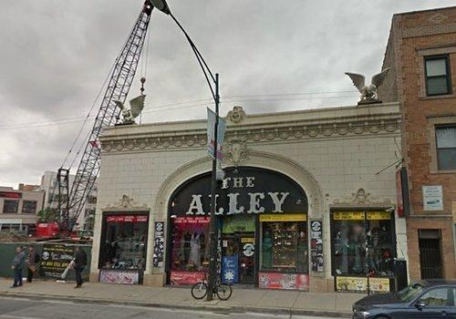 The Alley to be Replaced with Seven-Story Apartment Project