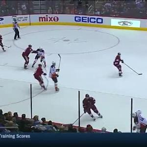 Mike Smith Save on Hampus Lindholm (11:58/1st)