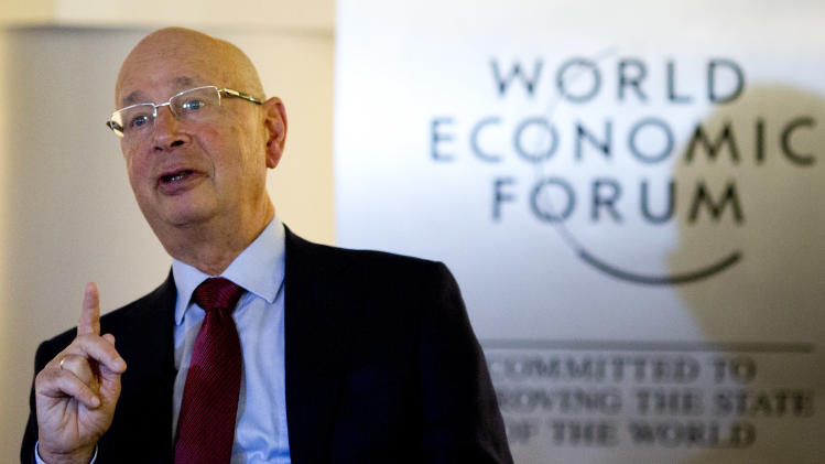 AP Interview: WEF founder still sees crisis risks