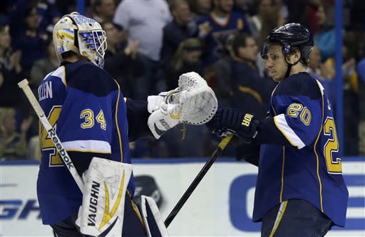 Blues top Blue Jackets for 3rd straight win