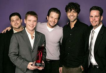 Jerry Ferrara, Kevin Connolly, Mark Wahlberg, Adrian Grenier and Kevin Dillon Hollywood Life's 4th Annual Breakthrough of the Year Awards - 12/12/2004