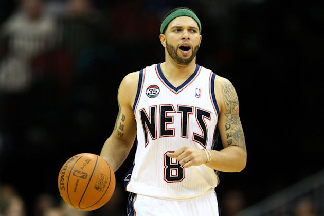 Deron Williams #8 Of The New Jersey Nets Brings Getty Images