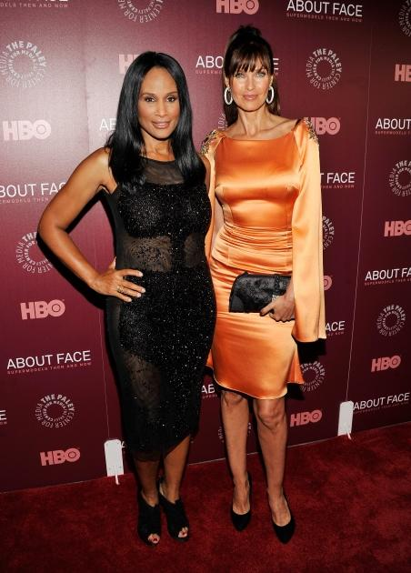 Beverly Johnson and Carol Alt attend the 'About Face: Supermodels Then And Now' New York Premiere at Paley Center For Media, New York City, on July 17, 2012 -- Getty Images