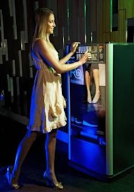 New Rollasole vending machines dispense flats in nightclubs.