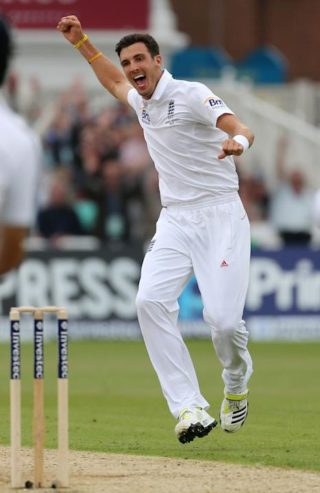 Cricket - Steven Finn File Photo