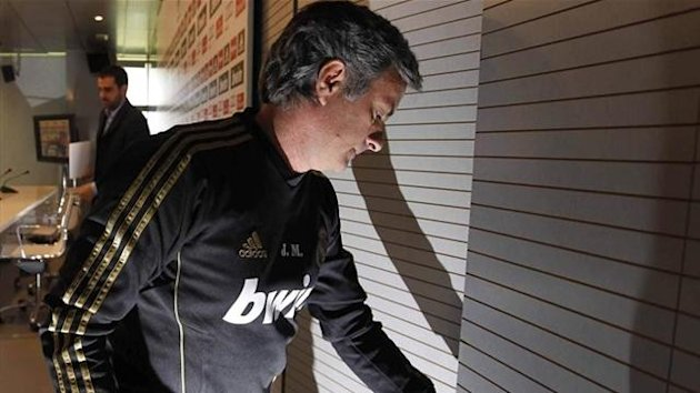 Jose Mourinho Real Madrid Liga 2011-2012