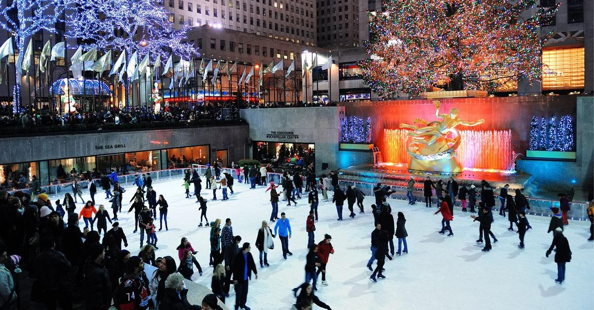 World's Most Stunning Places to Ice Skate Outdoors
