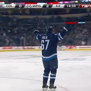 Colorado Avalanche at Winnipeg Jets - 12/12/2013