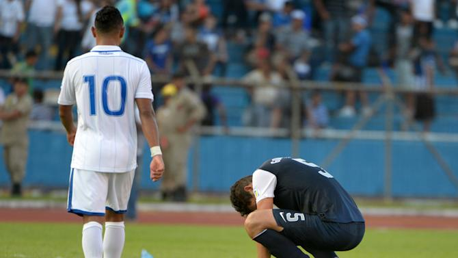 Soccer: World Cup Qualifier-USA at Honduras