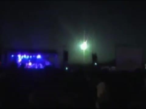 Meteor Lights Up Sky During Concert