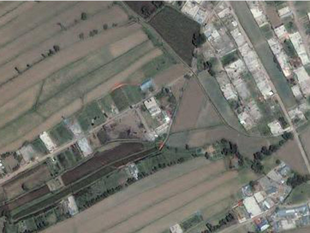 This Monday, May 2, 2011 satellite image provided by GeoEye shows the compound, center, in Abbottabad, Pakistan, where Osama bin Laden lived. Bin Laden, the face of global terrorism and mastermind of