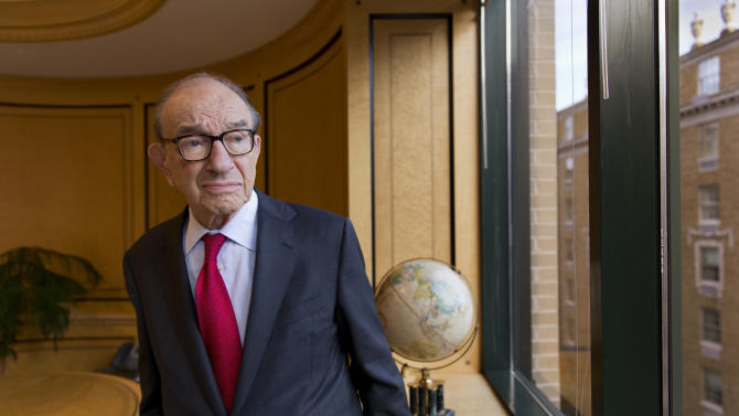Greenspan mulls roots of crisis he didn't foresee