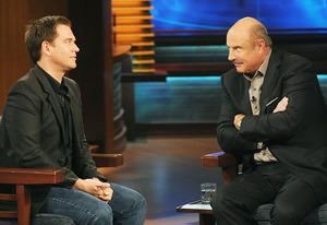 Michael Weatherly and Dr. Phil McGraw | Photo Credits: Ron Jaffe/CBS Television Distribution / Peteski Productions
