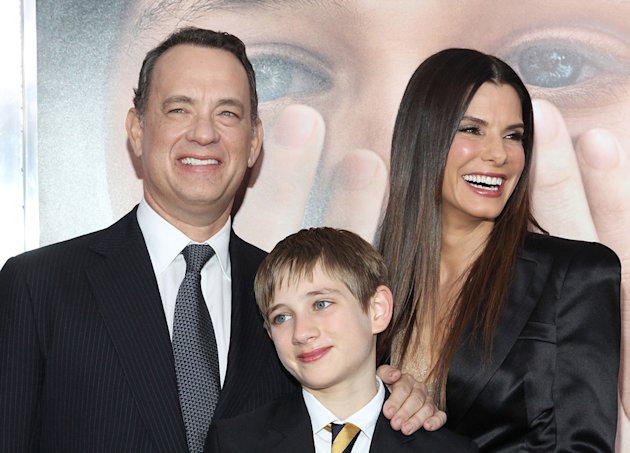 Extremely Loud and Incredibly Close 2011 NY Premiere Tom Hanks Sandra Bullock Thomas Horn
