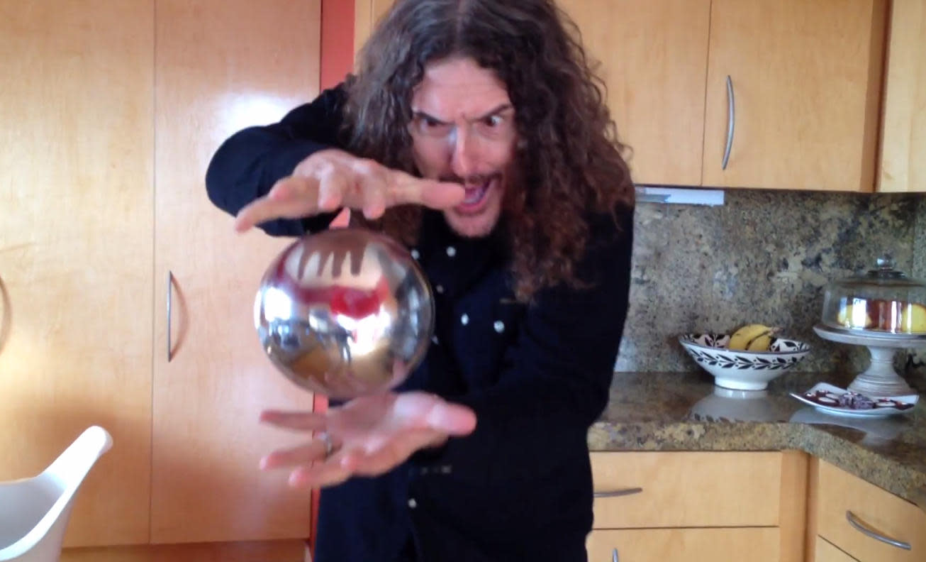 Weird Al the Magnificent and the mysterious floating orb