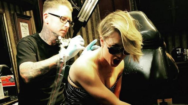 Kaley Cuoco Covers Marriage Tattoo: 'Do Not Mark Your Body With Any Future Wedding Dates'
