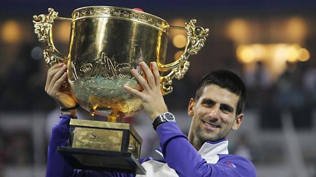 Saison 2012: Novak Djokovic, China Open, Peking