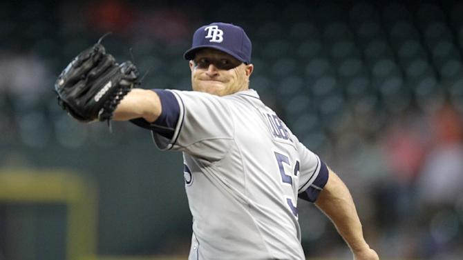 Rays down Astros 6-1