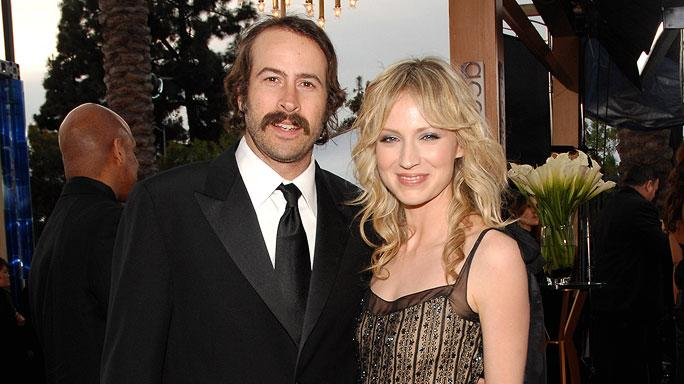 Jason Lee and Beth Riesgraf at the 13th Annual Screen Actors Guild Awards.