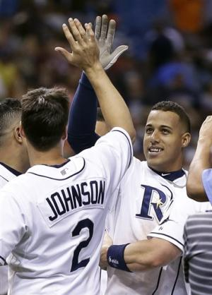 Escobar has RBI single in 10th, Rays beat Tigers