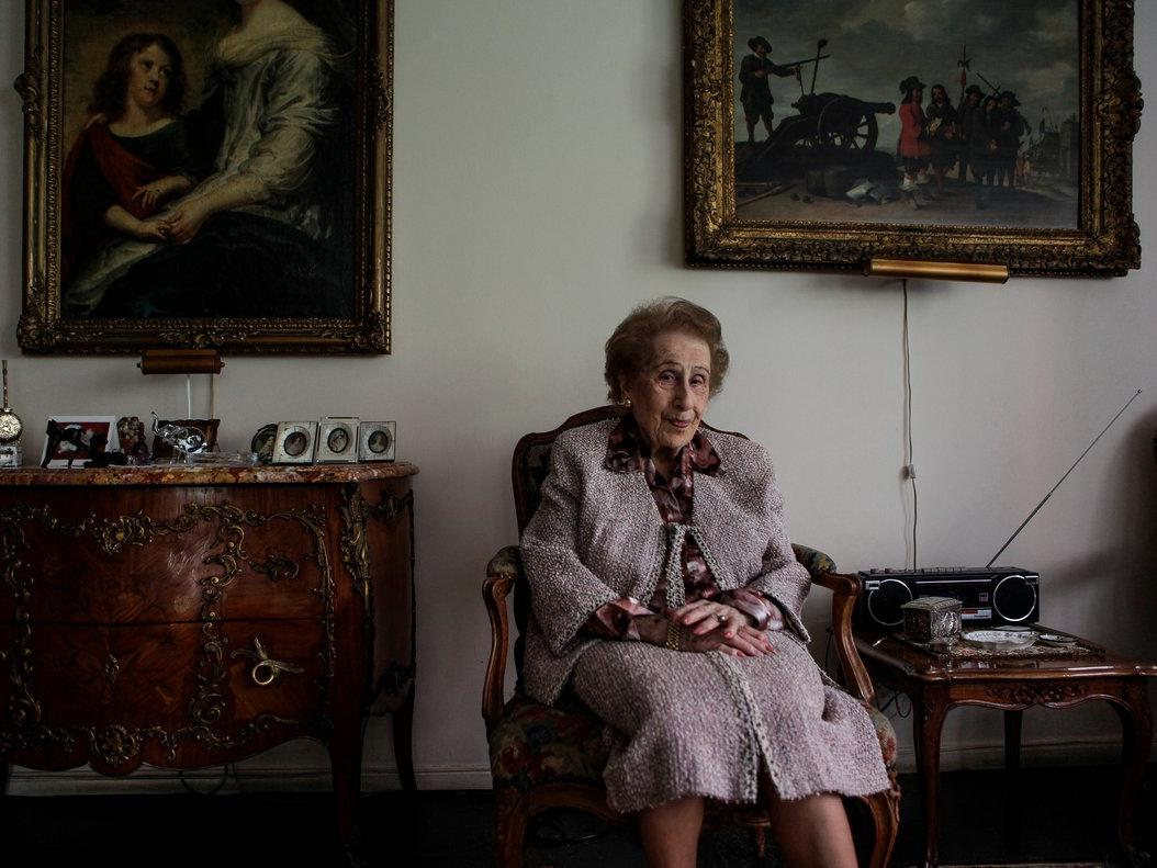 The only time this 99-year-old Wall Streeter lost a client in the last 20 years