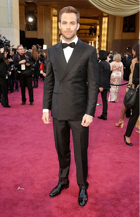 85th Annual Academy Awards - Arrivals: Chris Pine