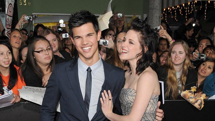 Twilight Saga New Moon LA Premiere 2009 Taylor Lautner