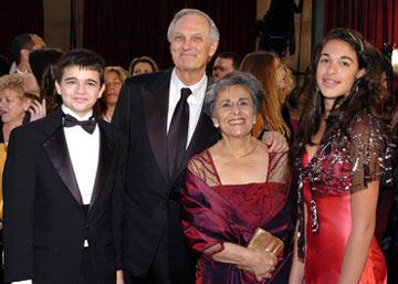 Alan Alda with family 77th Annual Academy Awards - Arrivals Hollywood, CA - 2/27/05