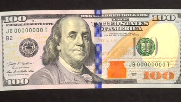 U.S. set to debut new hundred dollar bill Tuesday | Watch ... 100 Dollar Bill 2013 Conspiracy