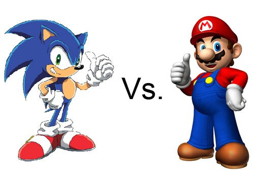 Sonic vs Mario. Sonic, Sonic generations, Sonic the Hedgehog, Sega, Nintendo, games, Gaming, 3DS, NES, Sega Mega Drive, Features, Mario,  0