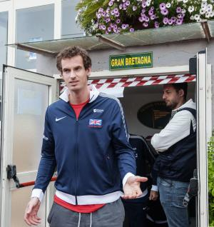 Murray set to recover for Davis Cup against Italy