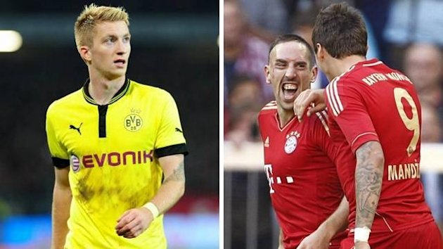 Saison 2012/2013: Bayern Mnchen vs. Borussia Dortmund