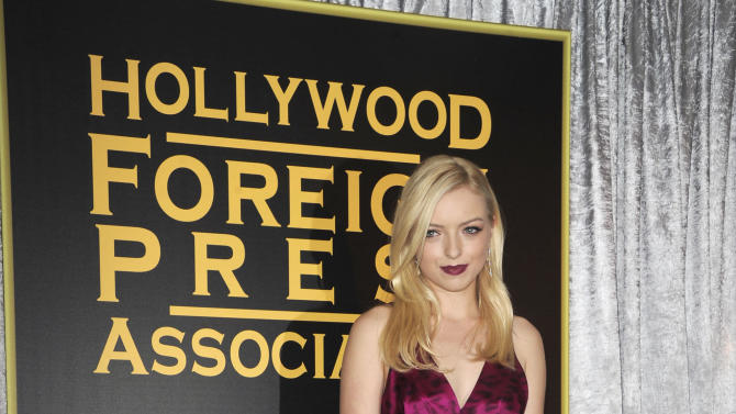 Francesca Eastwood attends HFPA and InStyle's Golden Globe award season celebration at Cecconi's on Thursday, Nov. 29, 2012, in West Hollywood. (Photo by Katy Winn/Invision/AP)
