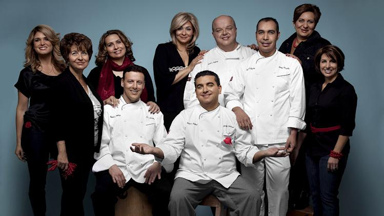 "The cast of ""Cake Boss."""