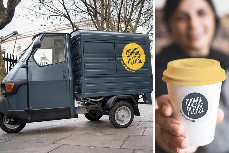 London Coffee Trucks Are Brewing Up Jobs for Homeless People
