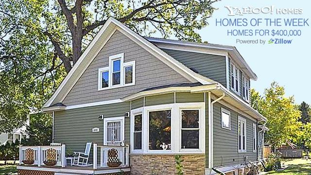 Yahoo! Homes of the Week: $400,000 homes