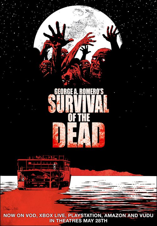 George A. Romero's Survival of the Dead Poster Production Stills Magnet 2010