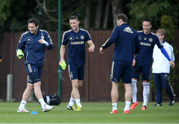 Soccer - UEFA Europa League Final - Chelsea v Benfica - Chelsea Media Day - Chelsea FC Training Ground