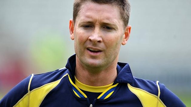 Australia&#39;s Michael Clarke, pictured, has found his nemesis in Ravindra Jadeja
