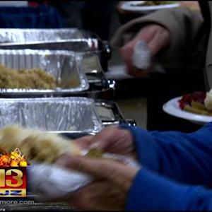 Goodwill Holds Its Annual Thanksgiving Feast