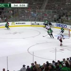 Jason Demers Hit on Kyle Palmieri (14:53/3rd)