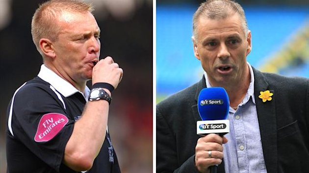 Graham Poll and Mark Halsey