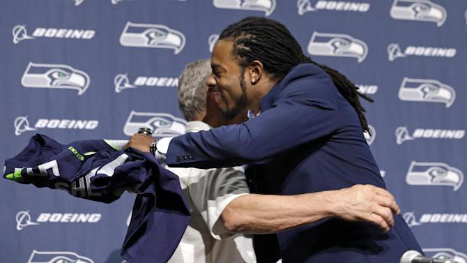 Seattle, Sherman agree to 4-year extension