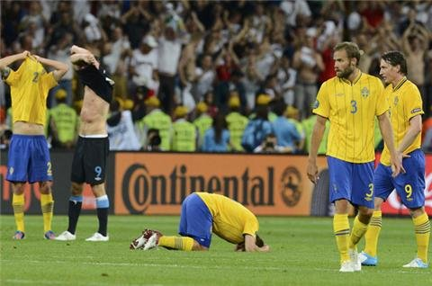 England knock Sweden out of Euro 2012