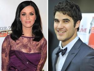 Katy Perry and Darren Criss -- Getty Images