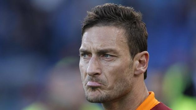 AS Roma's Francesco Totti (Reuters)