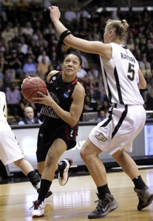 Defense leads S. Carolina women past Purdue 72-61